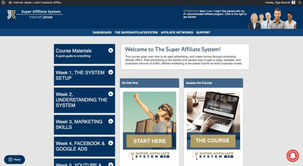 Super Affiliate System 3.0 (Review-2019)